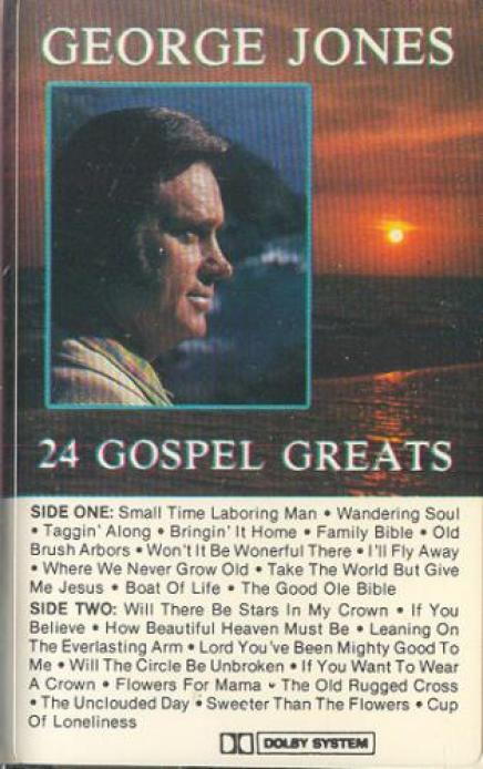 George Jones - 24 Gospel Greats (1989)