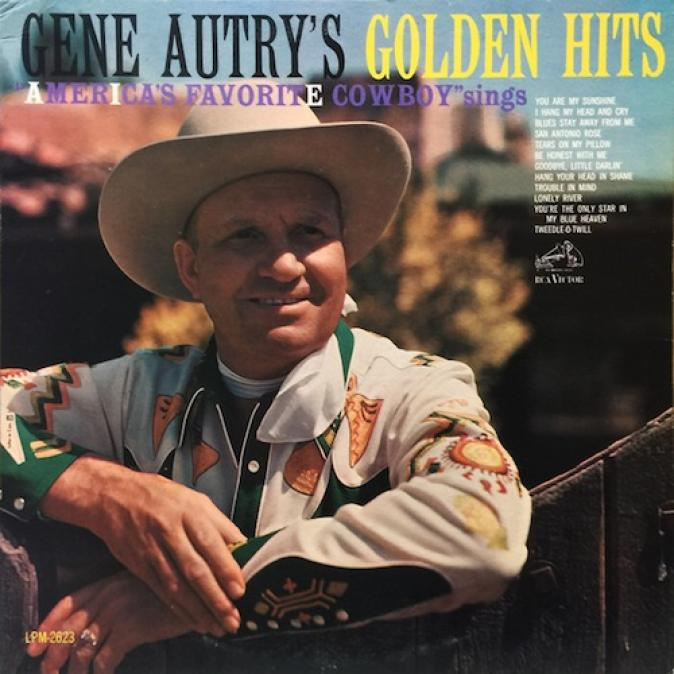 Gene Autry - America's Favorite Cowboy Sings His Golden Hits (1962)
