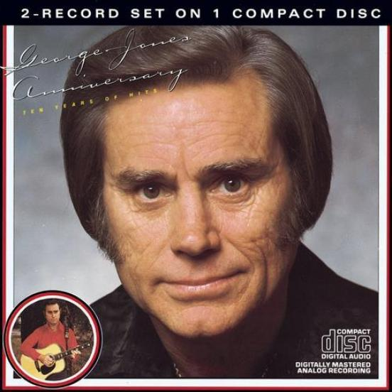 George Jones - Anniversary Ten Years Of Hits (1972)