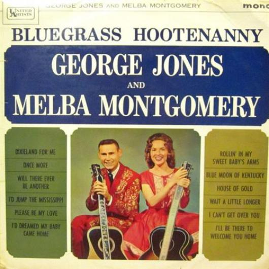 George Jones & Melba Montgomery - Bluegrass Hootenanny (1964)