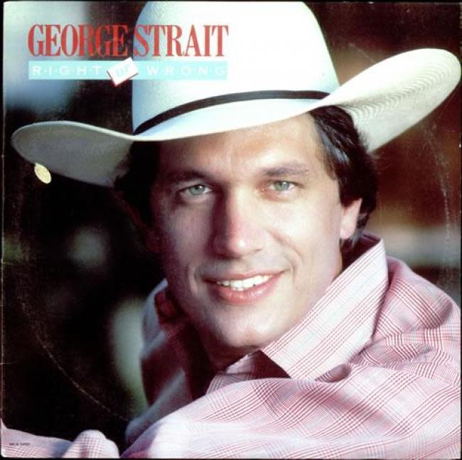 George Strait - Right Or Wrong (1983)