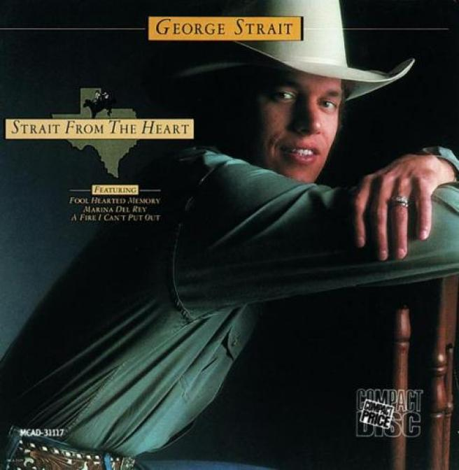 George Strait - Strait From The Heart (1982)