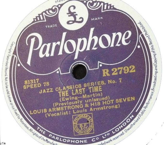 The Last Time / Ory's Creole Trombone (1937)