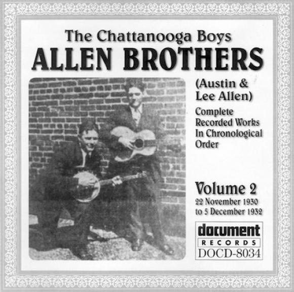 The Allen Brothers - Vol. 2 (1930-1932) (1998)